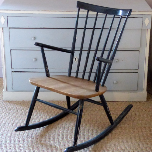 Rocking-chair scandinave