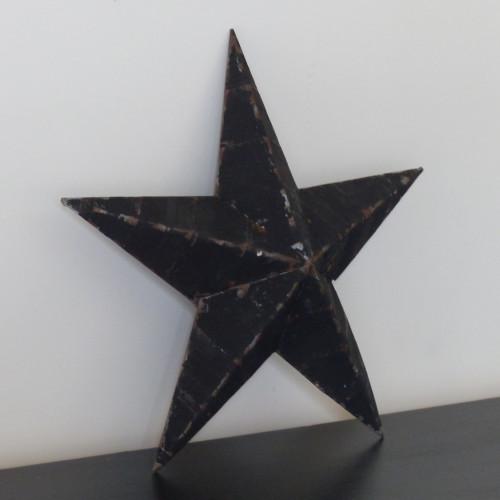Petite étoile Amish noire