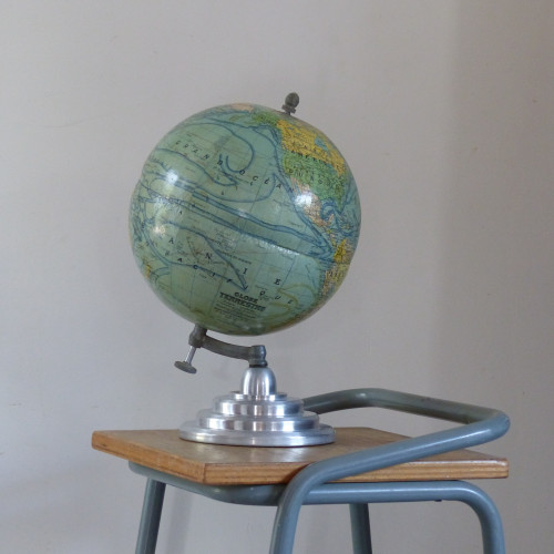 Globe terrestre J. Forest