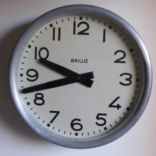 Horloge BRILLIE des années 50