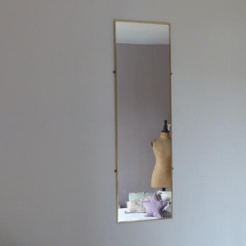 Grand miroir rétro
