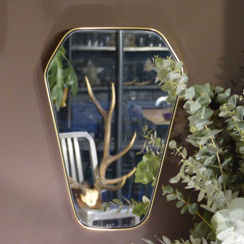 Miroir asymétrique rétro