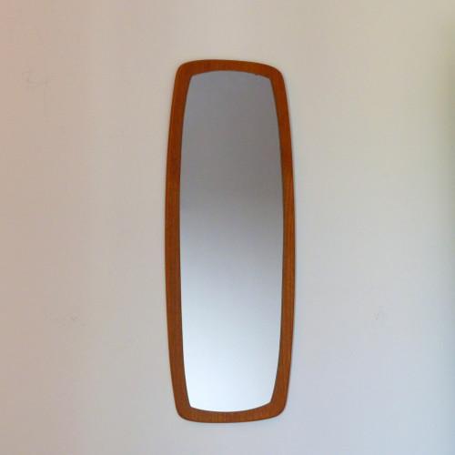 Miroir scandinave en teck