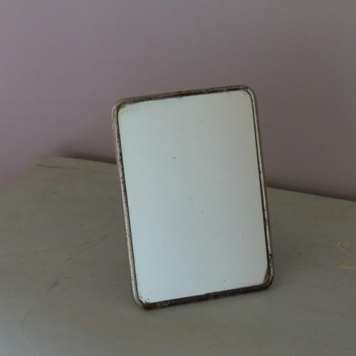 Ancien miroir de barbier triptyque lignedebrocante for Miroir petit