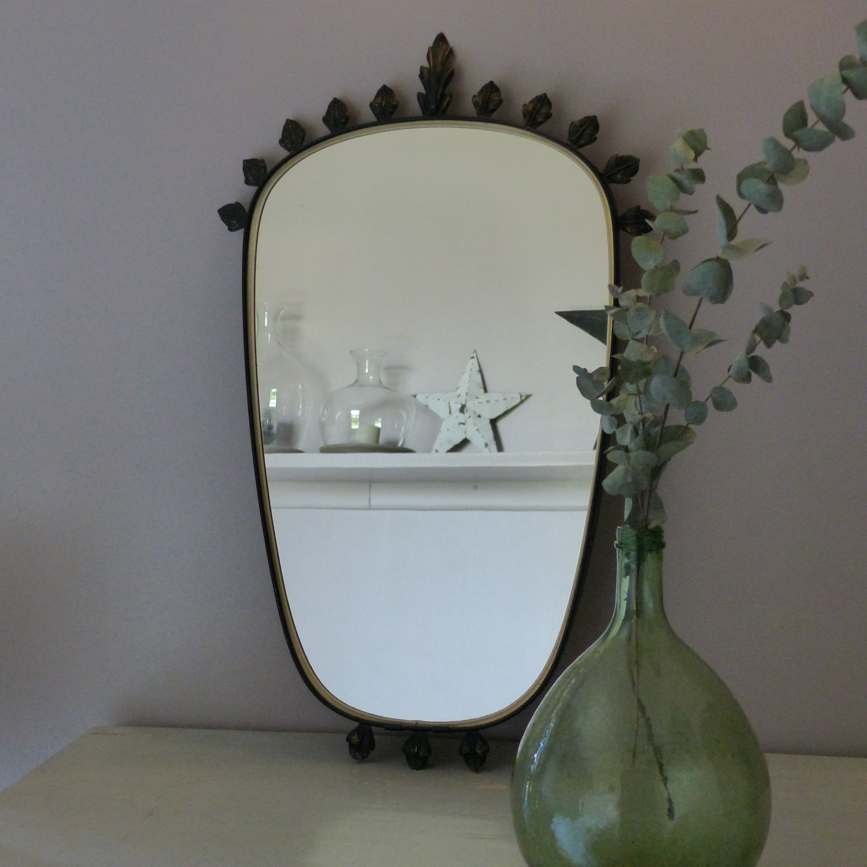 miroir r tro vintage lignedebrocante brocante en ligne chine pour vous meubles vintage et. Black Bedroom Furniture Sets. Home Design Ideas