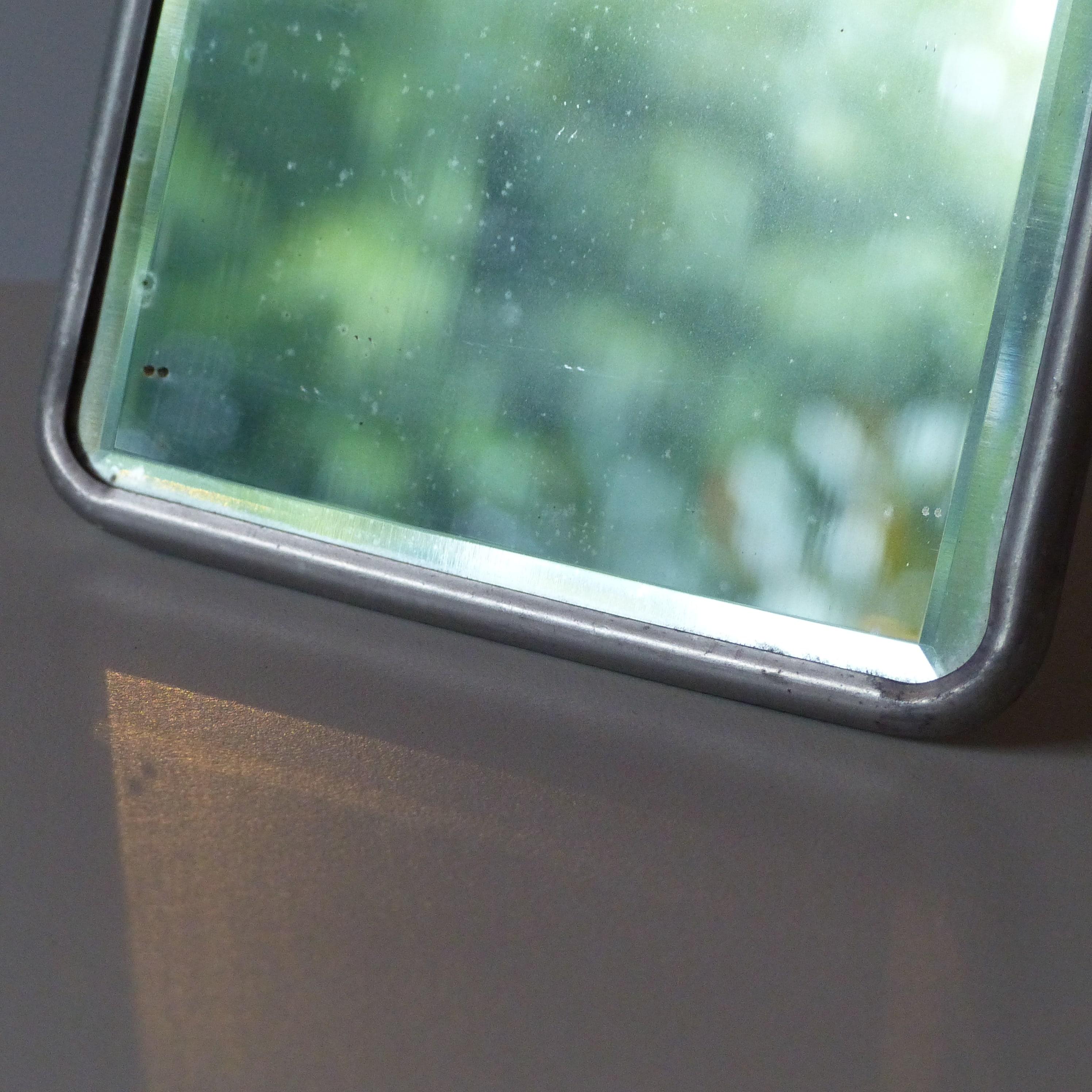 Petit miroir de barbier lignedebrocante brocante en ligne chine pour vous meubles vintage et for Miroir petit