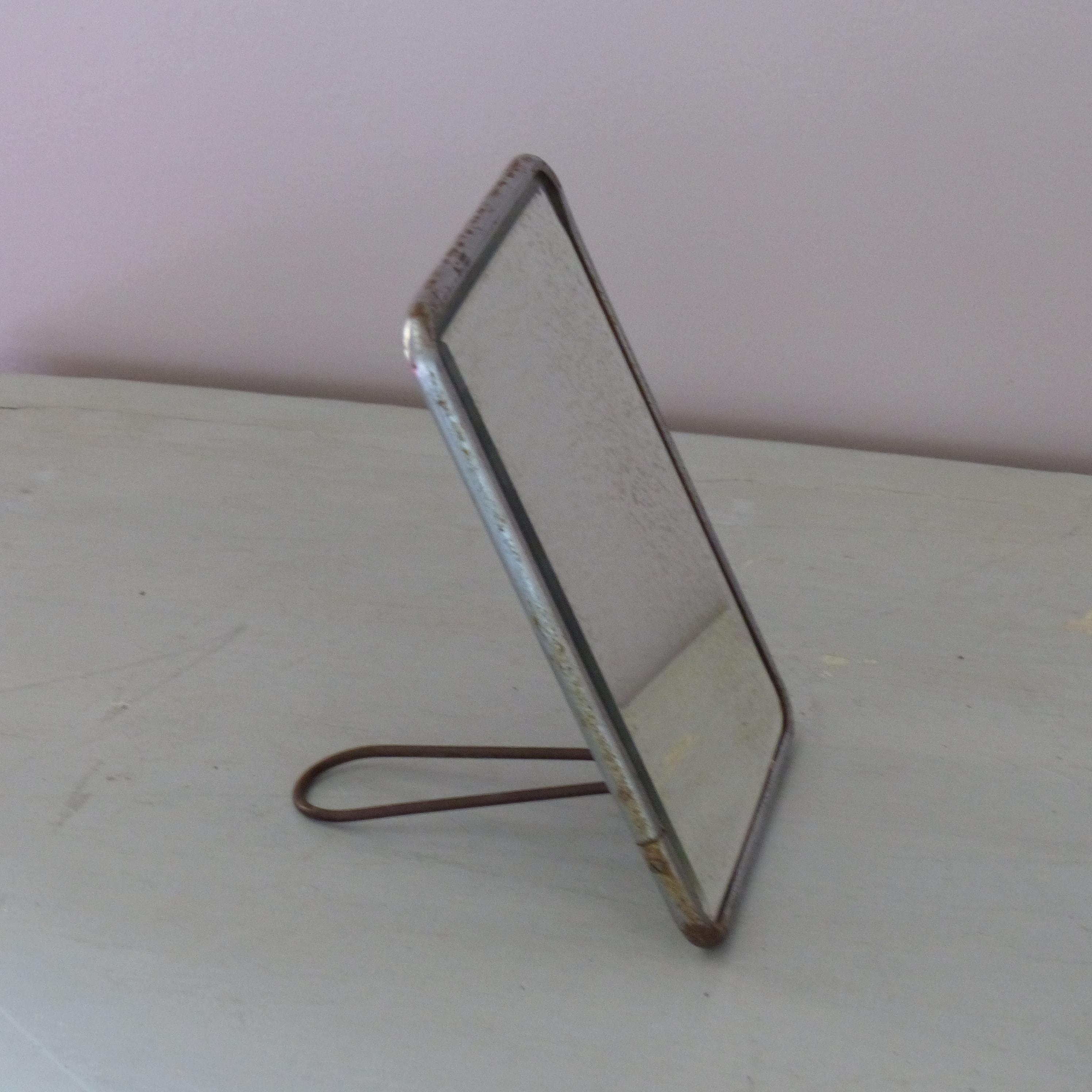Miroir de barbier petit mod le lignedebrocante for Petit miroir industriel