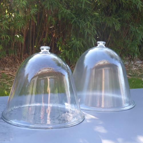 Ancienne cloche de mara cher en verre lignedebrocante - Cloche de jardin en verre ...