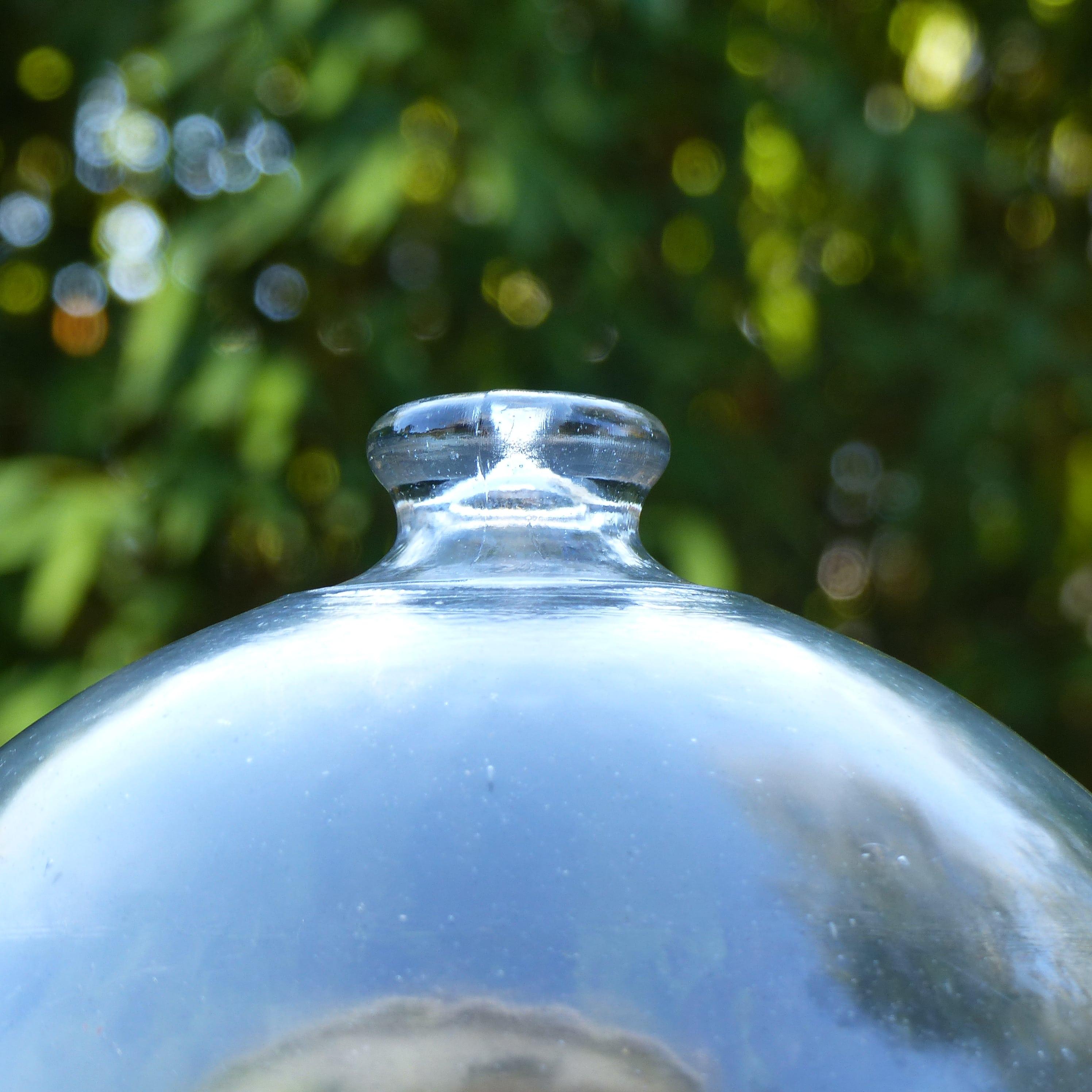 Ancienne cloche de mara cher en verre lignedebrocante - Cloche en verre casa ...