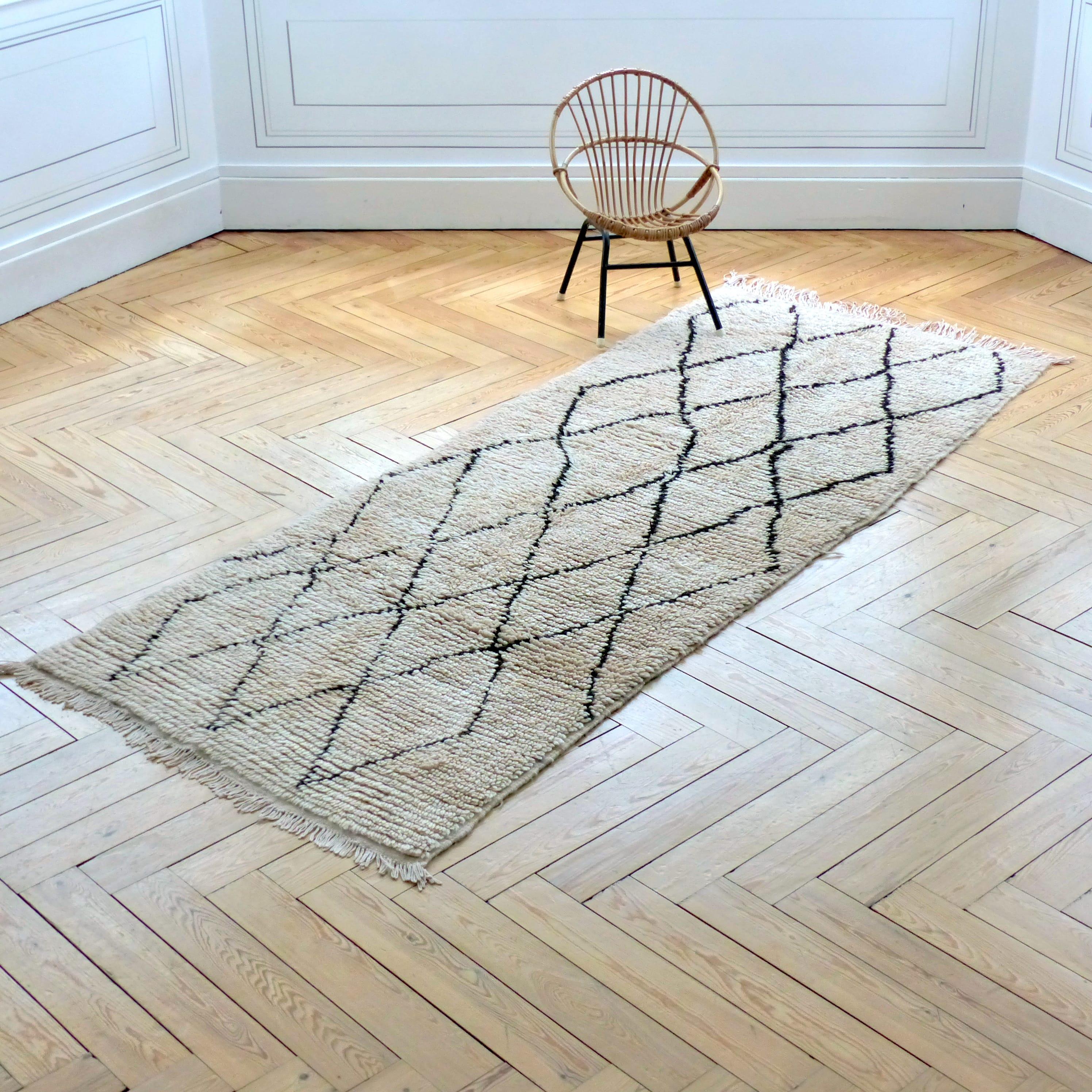 tapis beni ouarain long - Tapis Beni Ouarain
