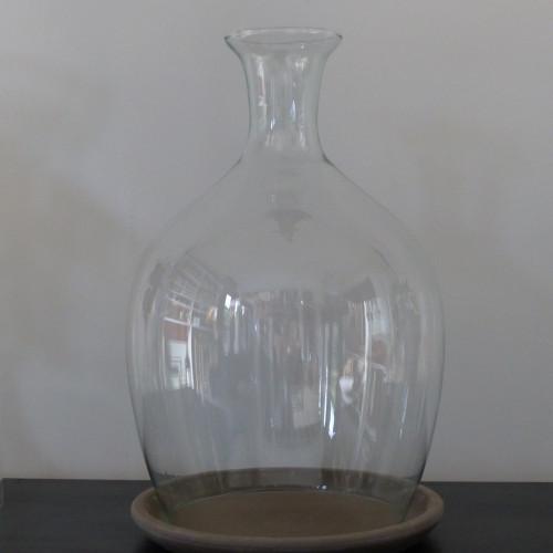 Cloche de pr sentation en verre mm lignedebrocante for Cloche de jardin en verre