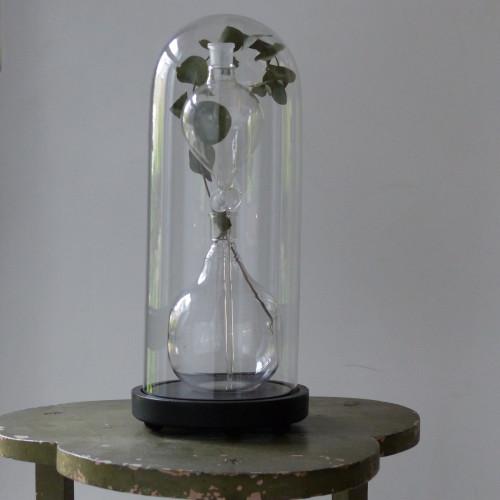 Petit globe de mariée en verre
