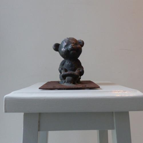 Ancien moule en métal de figurine Pouet pouet