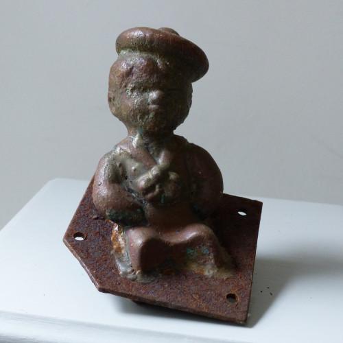 Ancien moule de figurine Pouet pouet - Petit baigneur