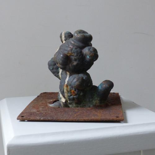 Ancien moule de figurine Pouet Pouet - Ourson au chapeau