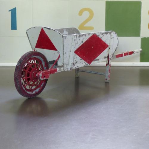 Brouette pour enfant en métal galvanisé