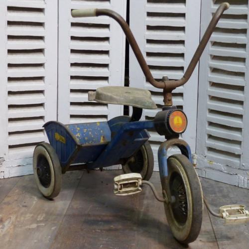 Tricycle benne bleu à pédales Coloma y Pastor