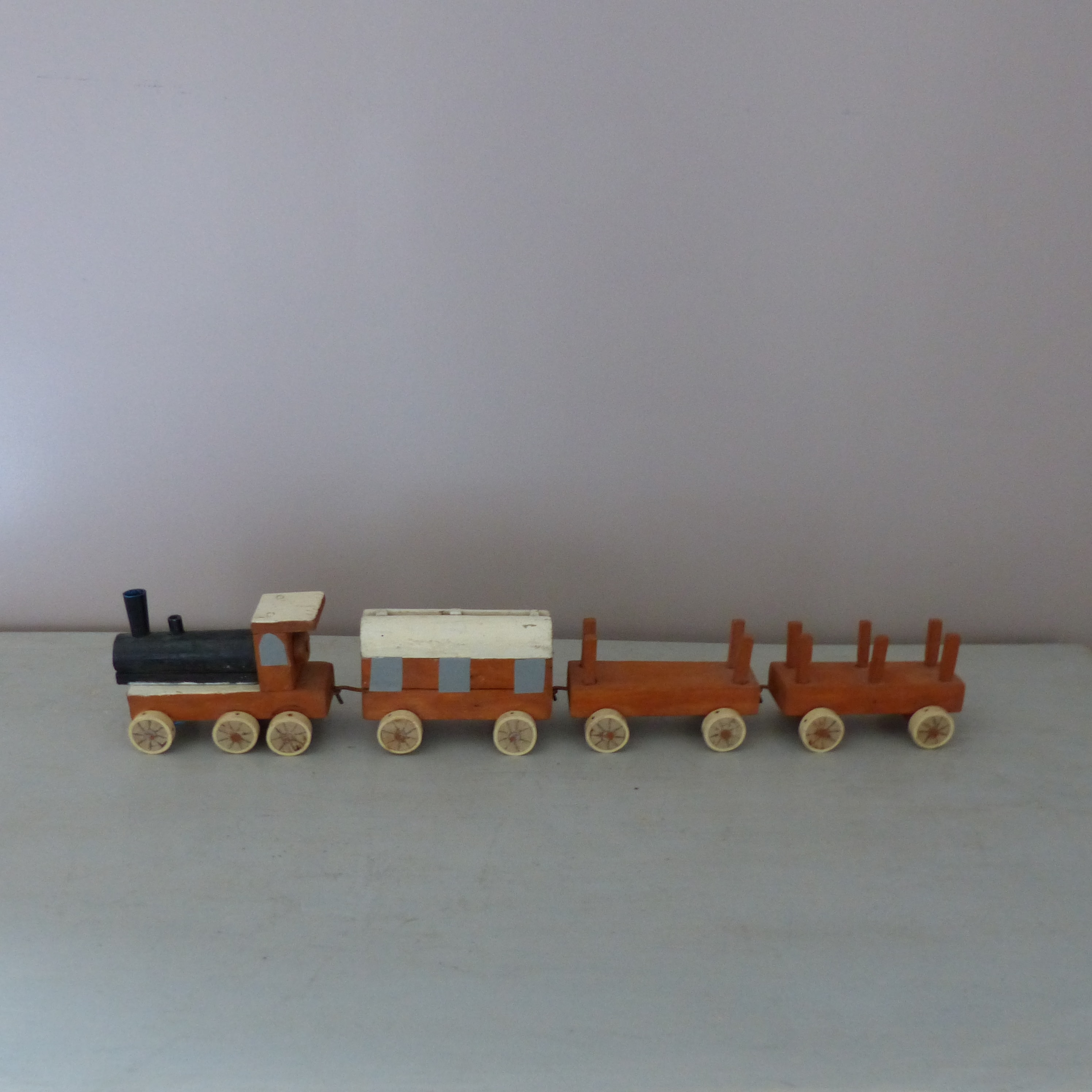 Petit train en bois  jouet pour enfant  lignedebrocante brocante en  ~ Train En Bois Enfant