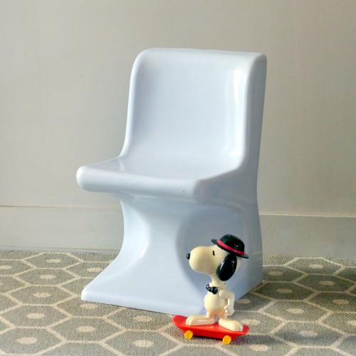 Chaise en plastique moulé selap