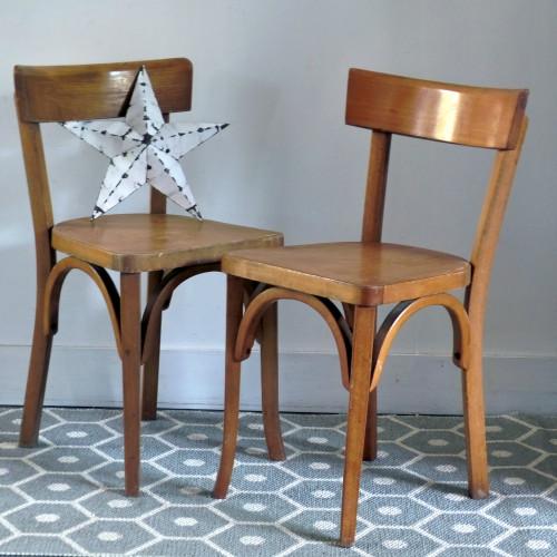 Paire de chaises pour enfant Baumann