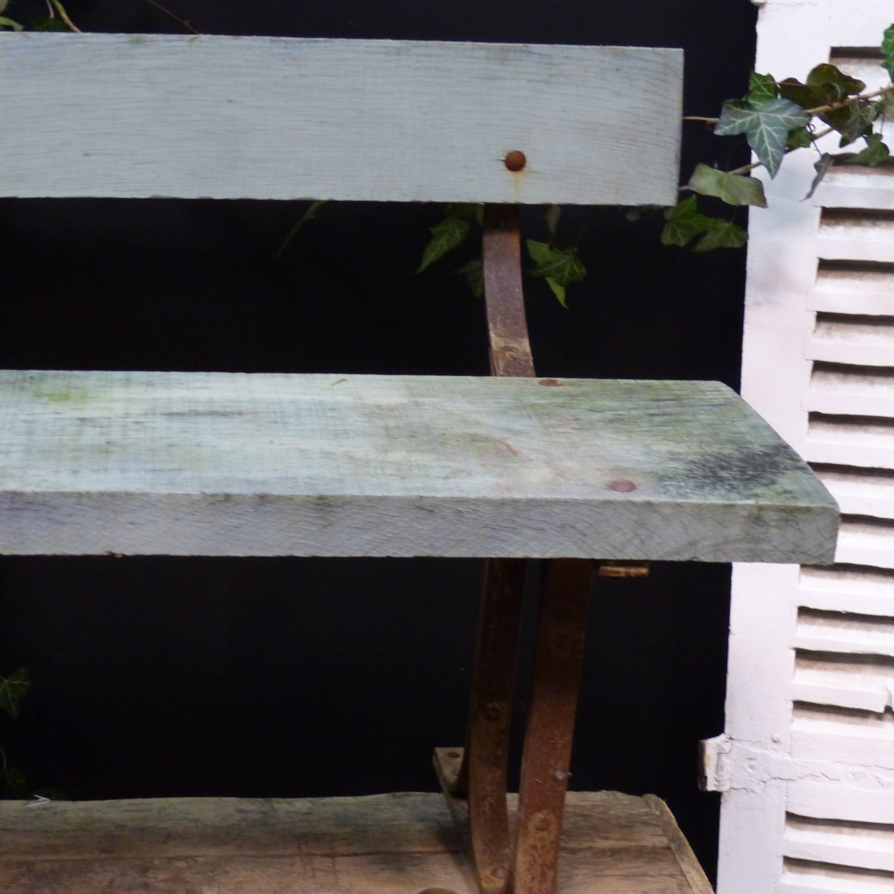 Ancien banc de jardin pour enfant lignedebrocante - Banc de jardin ancien ...