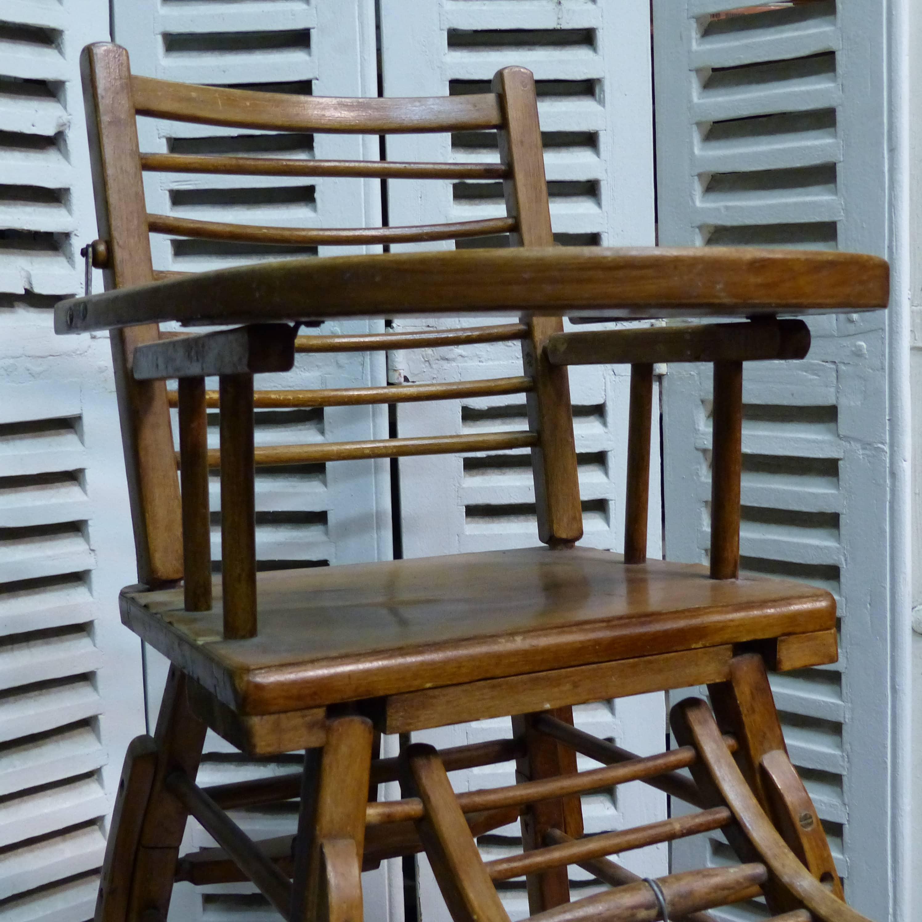chaise haute pour enfant en bois lignedebrocante brocante en ligne chine pour vous meubles