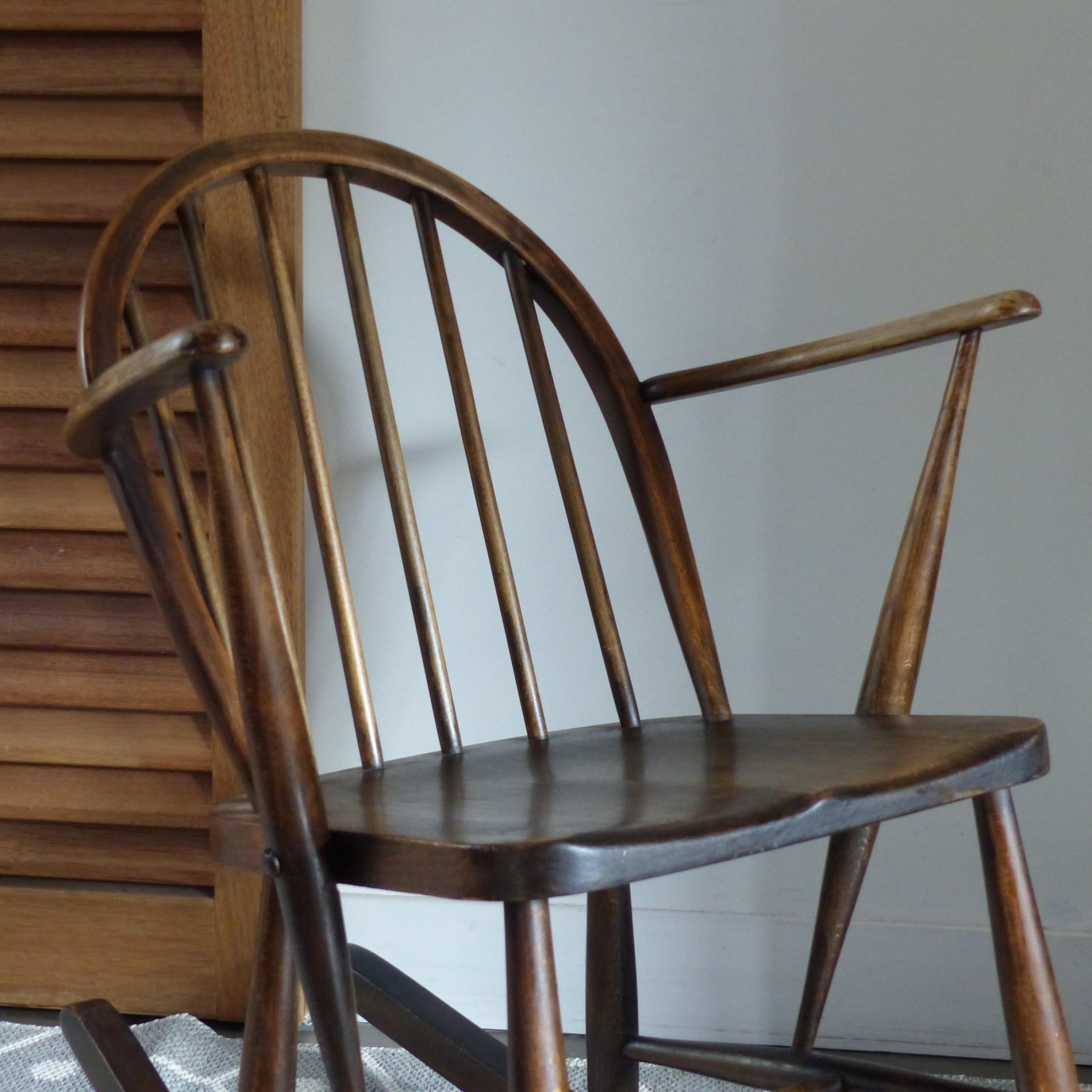 Rocking Chair Pour Enfant Ercol Lignedebrocante Brocante