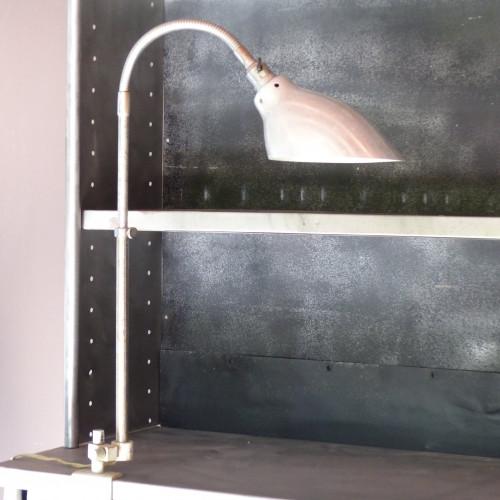 Lampe d'atelier vintage articulée KI-E-KLAIR