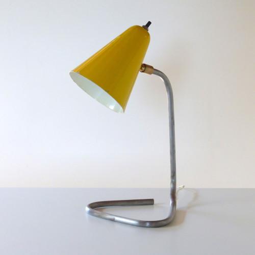 Lampe cocotte jaune
