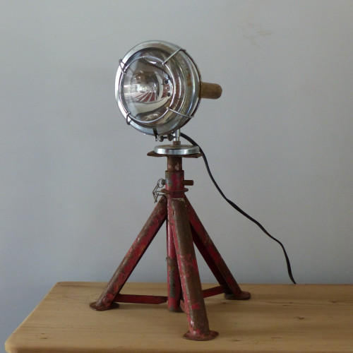 Lampe - Phare de voiture aimanté sur trépied