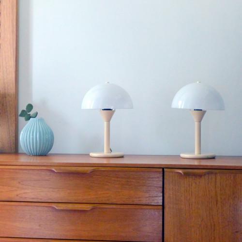 Paire de lampes de chevet Aluminor