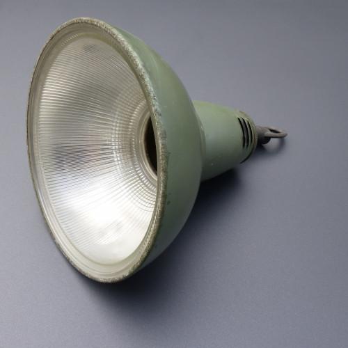 Paire de suspensions industrielles HOLOPHANE avec réflecteur en verre