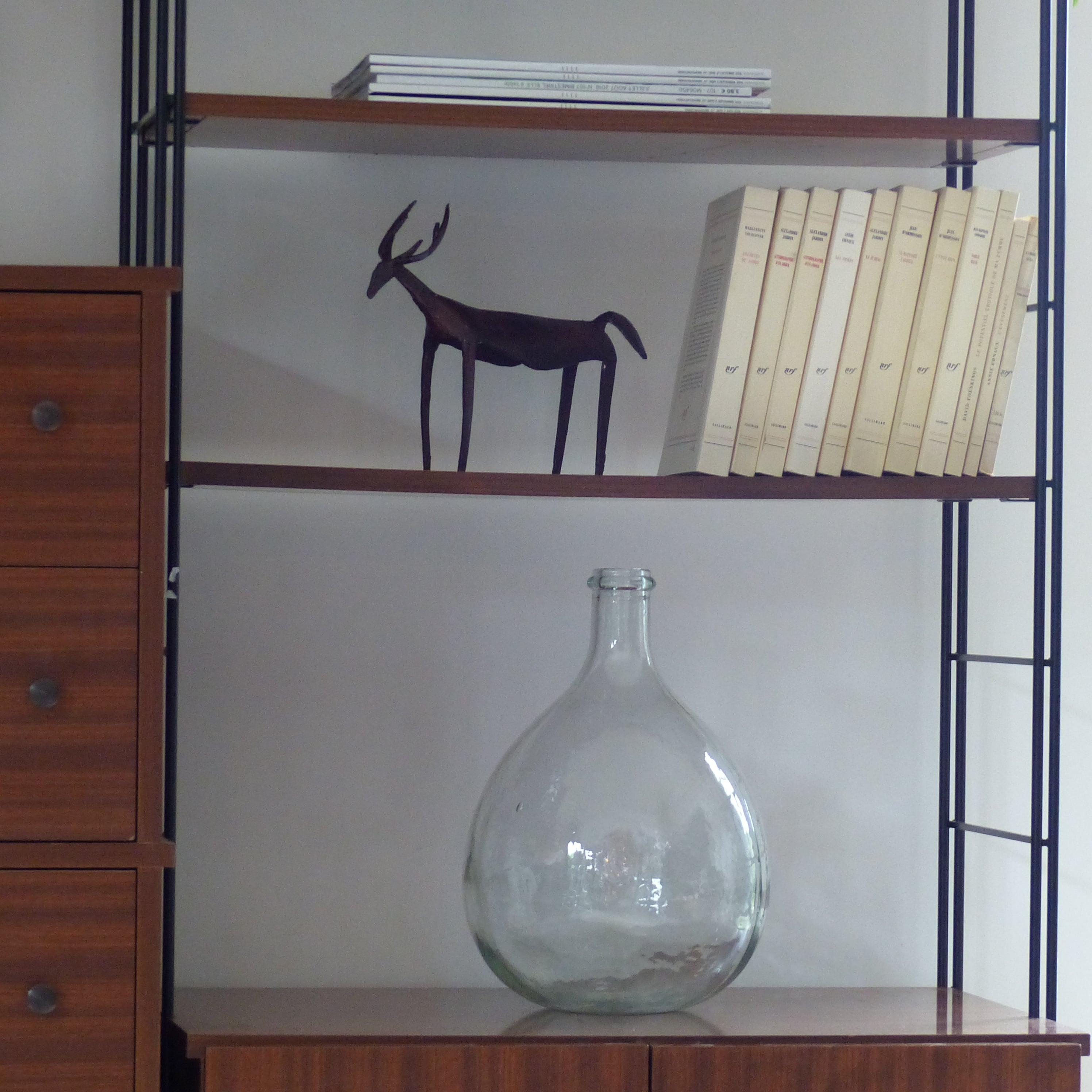 etag re biblioth que murale modulable vintage. Black Bedroom Furniture Sets. Home Design Ideas