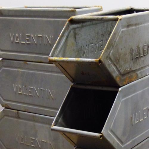Casier à bec en métal VALENTINI - petit modèle