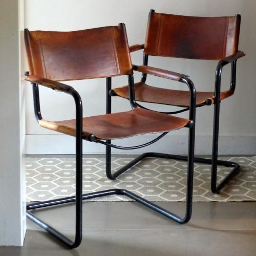 Paire de fauteuils MG5 Matteo Grassi