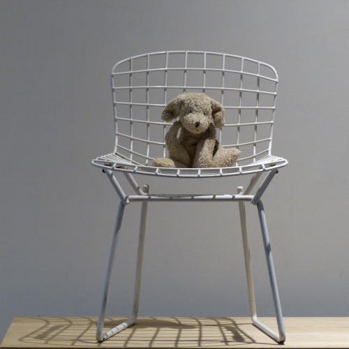 Petite chaise pour enfant Harry Bertoïa