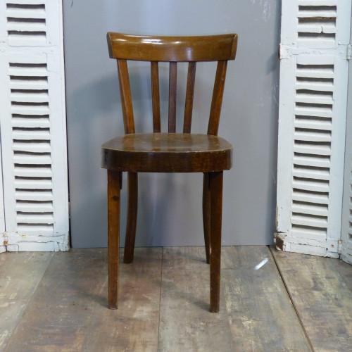 Série de 6 chaises bistrot FISCHEL