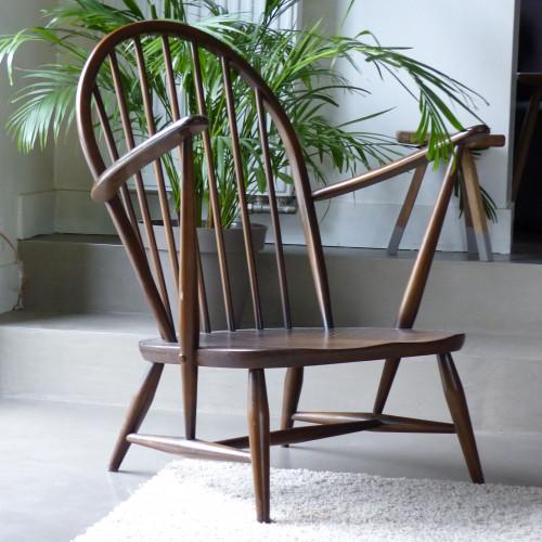 Paire de fauteuils bas ERCOL