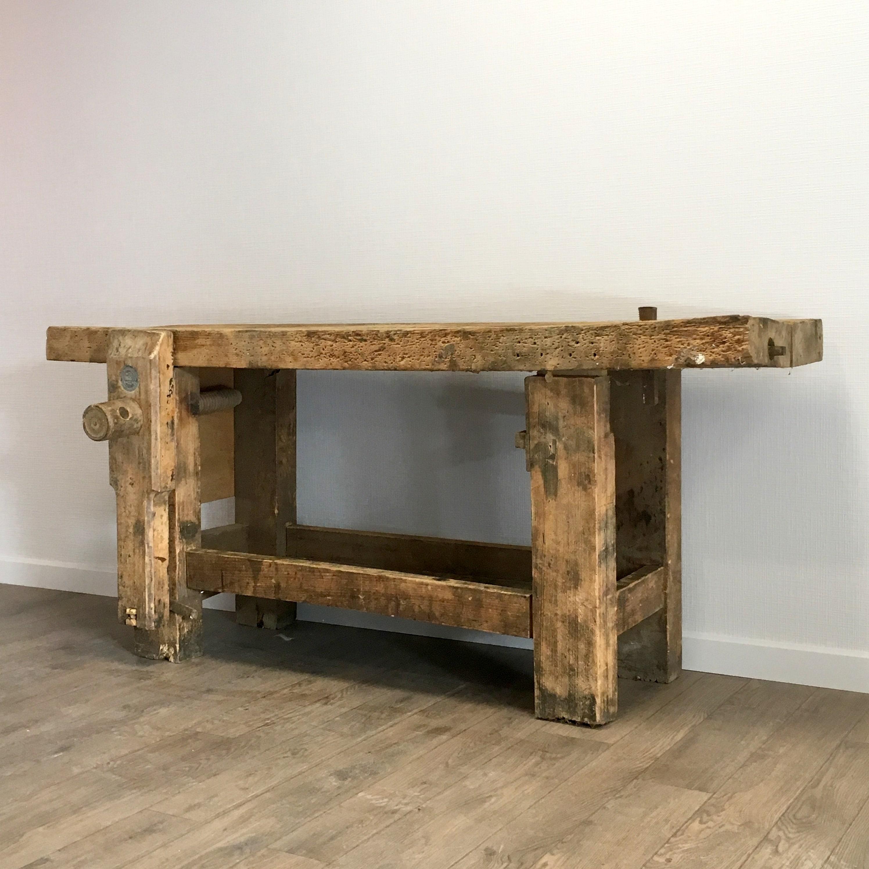 ancien tabli en bois lignedebrocante brocante en ligne chine pour vous meubles vintage et. Black Bedroom Furniture Sets. Home Design Ideas