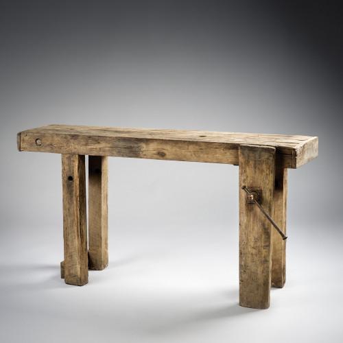 Etabli de menuisier en bois