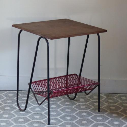 petite table d 39 appoint vintage lignedebrocante brocante en ligne chine pour vous meubles. Black Bedroom Furniture Sets. Home Design Ideas