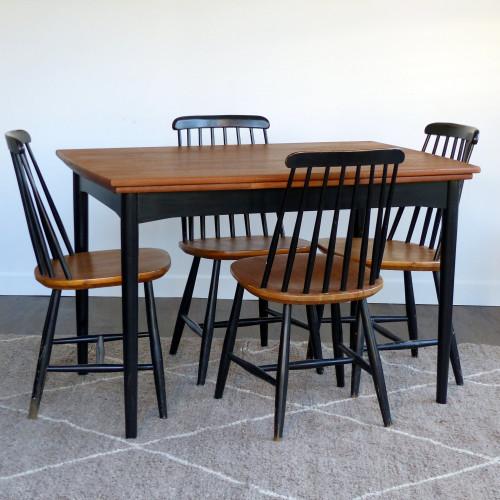 Table de salle à manger scandinave