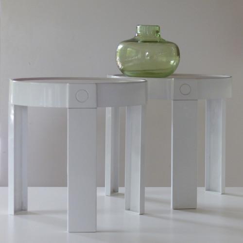 Paire de petites tables gigognes HOLLAND