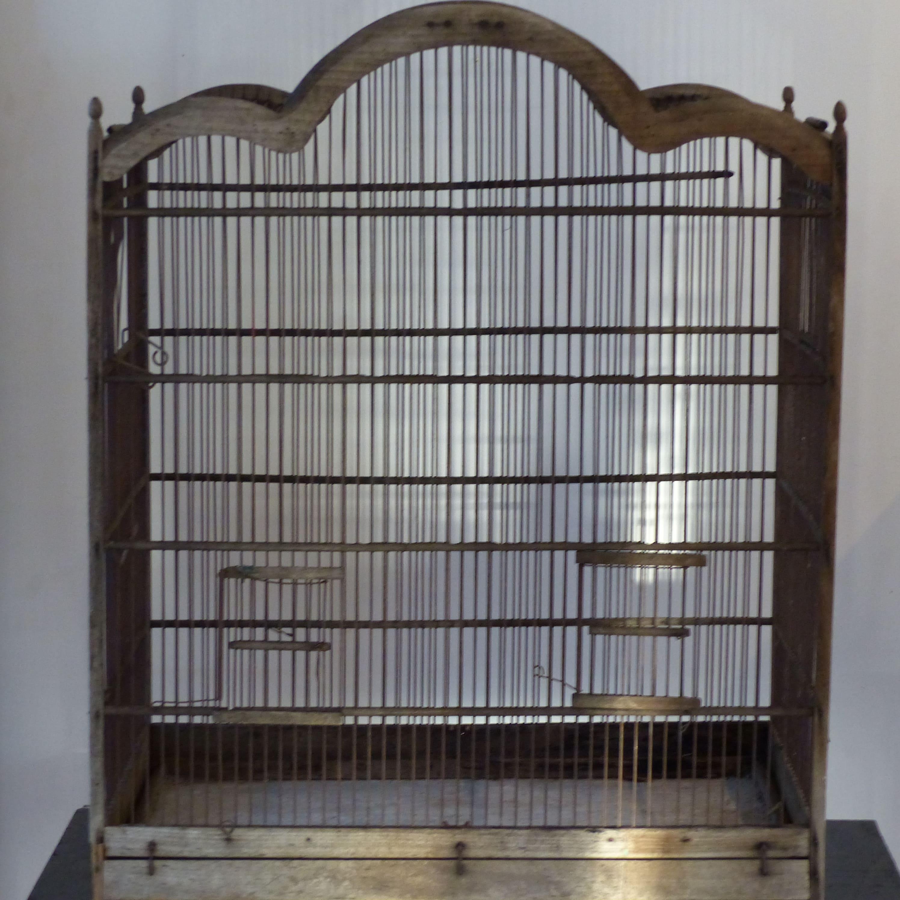grillage a oiseaux grillage a oiseaux ancienne cage 224 oiseaux en bois et. Black Bedroom Furniture Sets. Home Design Ideas