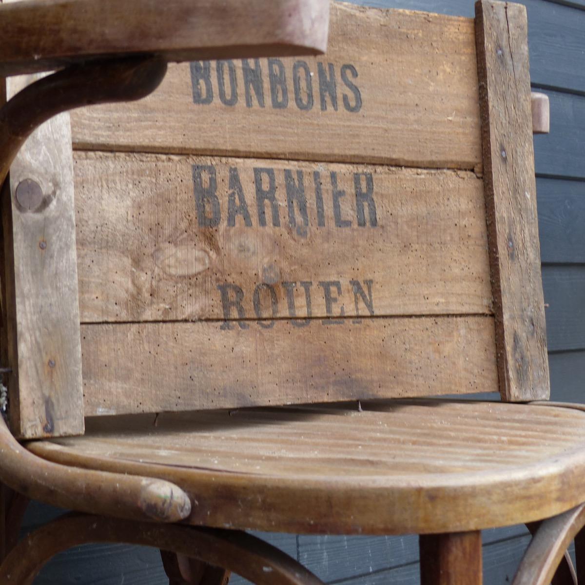Plaque en bois bonbons Barnier lignedebrocante brocante en ligne chine pour vous meubles  # Plaque Bois Compressé